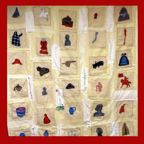 Fifth Grade Revolutionary War Quilt