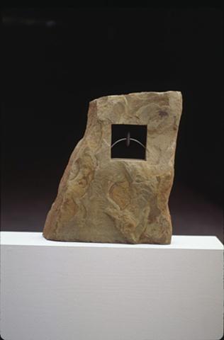contemporary outdoor mixed-media sculpture