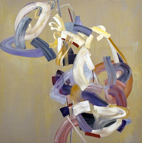 "Sway, 72""x72"", oil on linen: sold"