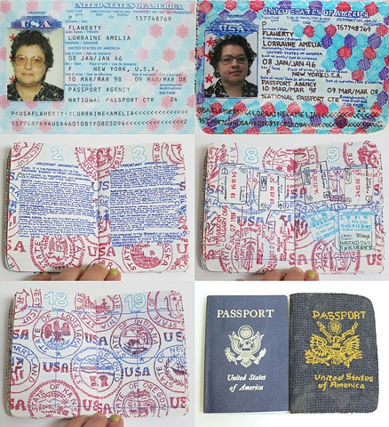Amy Flaherty Palindromic Sequences passport