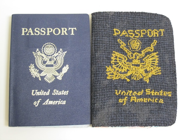 Amy Flaherty Palindromic Sequences passport Art