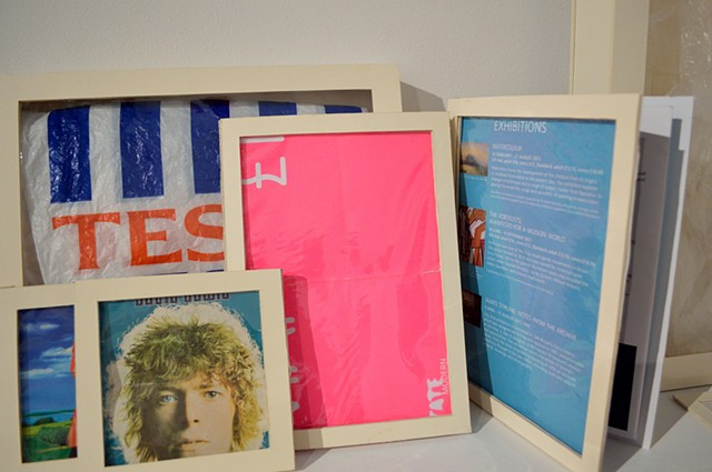 Jounal Project Installation Amy Flaherty Essex Art Center