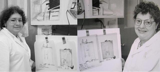 Amy Flaherty Palindromic Sequences light box Art