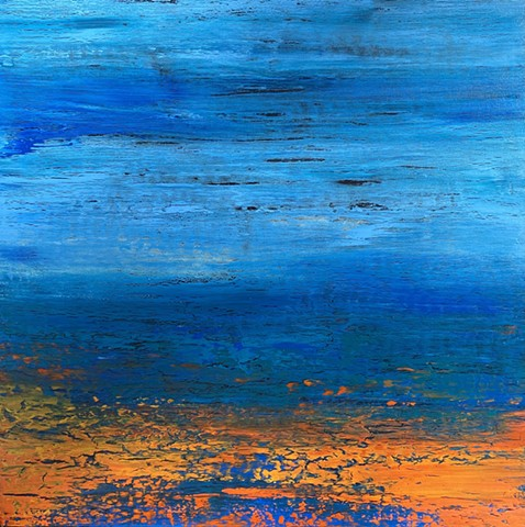 Coastal art, landscape art, abstract art, contemporary art, large wall art