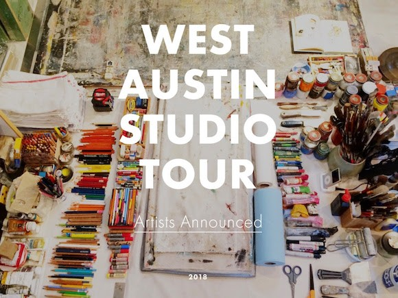 West Austin Studio Tour, May 12-13, May 19-20