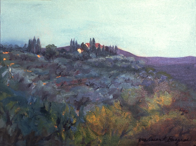 plein air painting, Italy