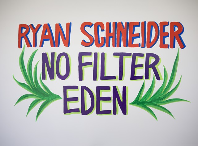 No Filter Eden, V1 Gallery 2018