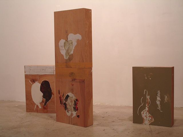 Family Grouping installation Bolm Projects, Austin, TX, 2006