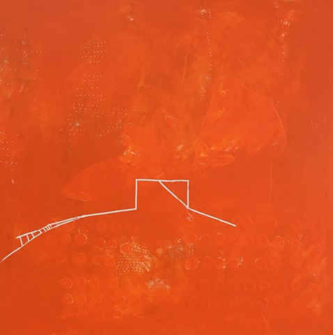 untitled (in/out orange)