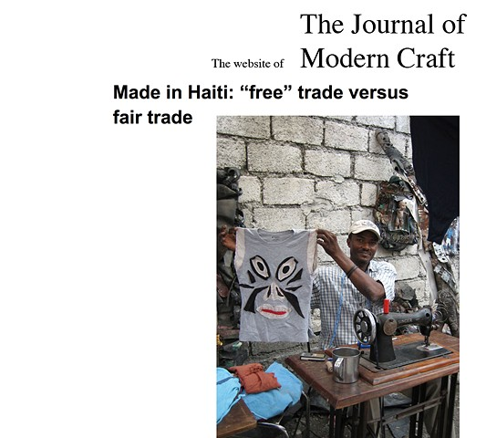 "Made in Haiti: ""free"" trade versus fair trade"