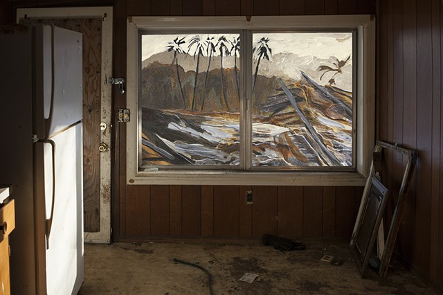 Scorched Earth on view at Saranac Art Projects