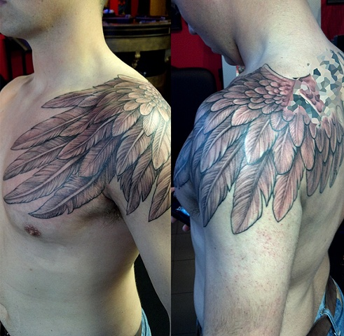 freehand wing