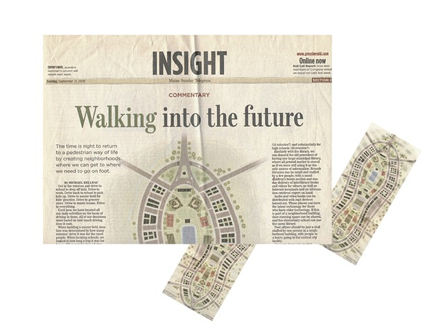 Maine walkable pedestrian neighborhood article.