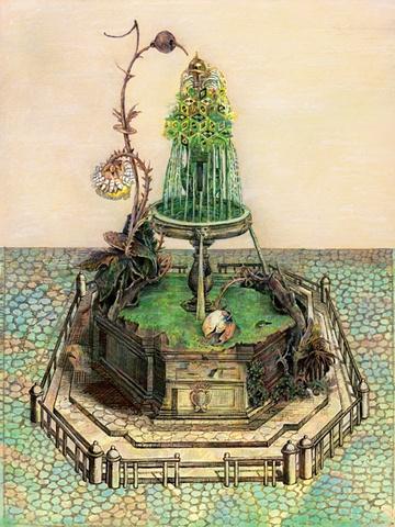 Ben Blatt Green Fountain