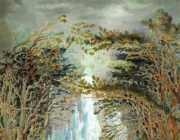 Detail from Frame Lake