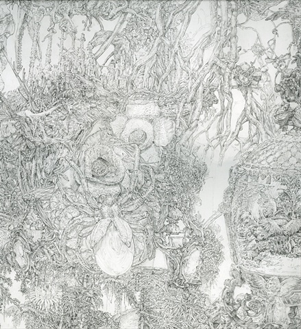 Organic Drawing (Detail)