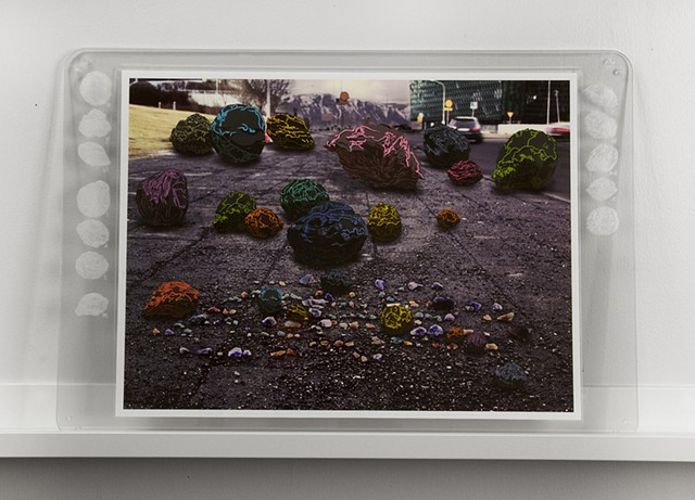 Shawn Bitters, Screen Printing, Prints, volcanic bombs, iceland, photograph