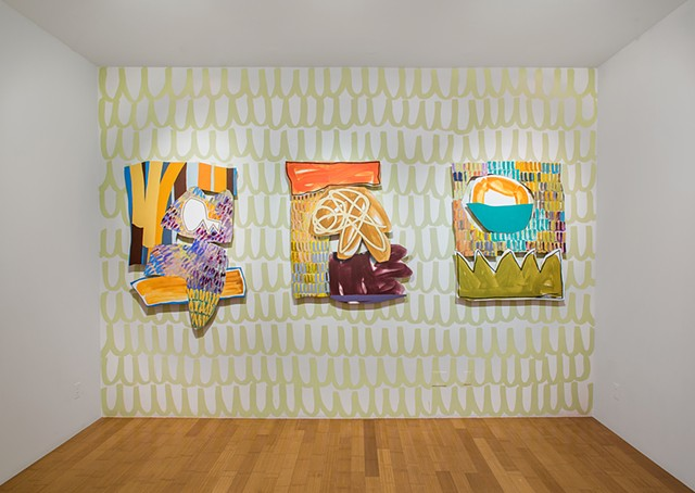 "Installation view of ""Bookends"" at David B. Smith Gallery"