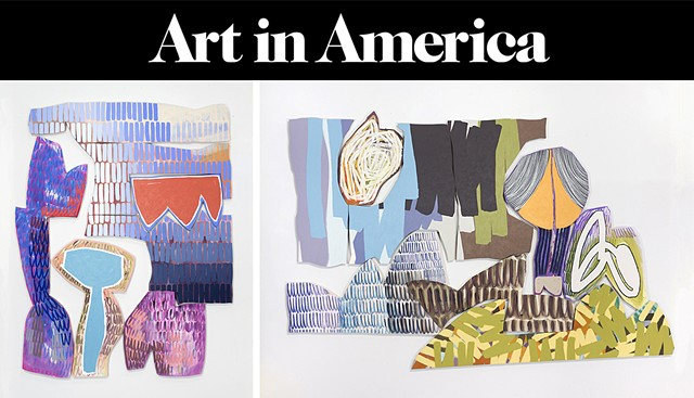 REVIEW in Art in America