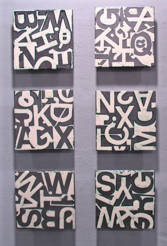 SOLD MossWhite 6TIles