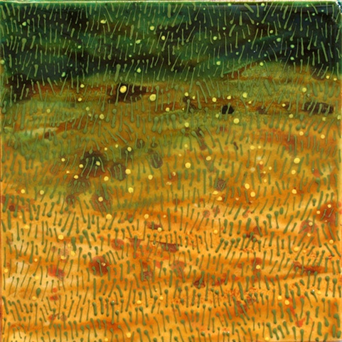"SOLD Field I, 8""x8"" tile"