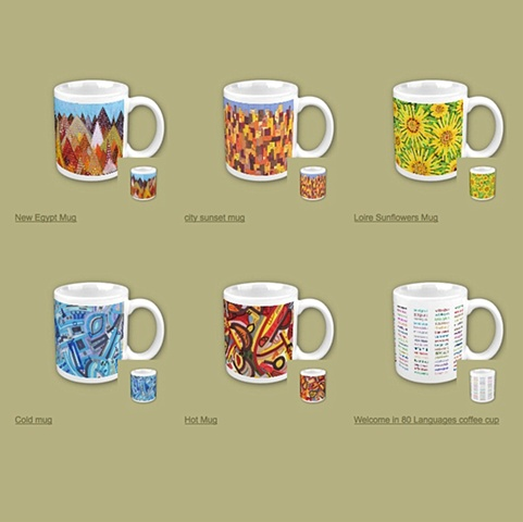 Coffee Cups Assortment 2