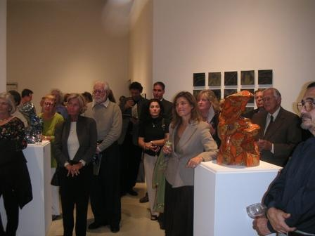 Reception Crowd - Freedman Gallery