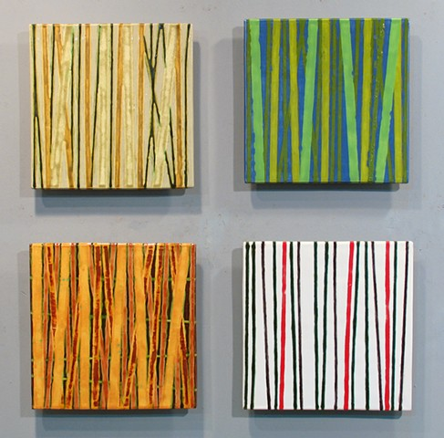 "SOLD Seasons - 4 12""x12"" Tiles"