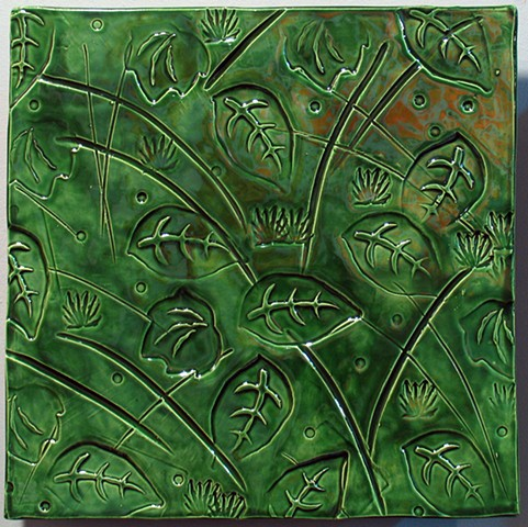 "Leaves - LeafGreen 12""x12"""