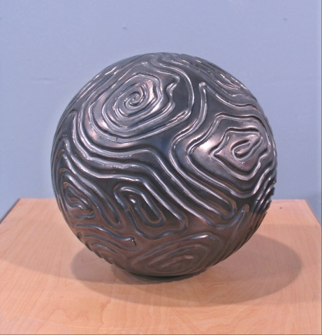 SOLD - Grooved Sphere - side A