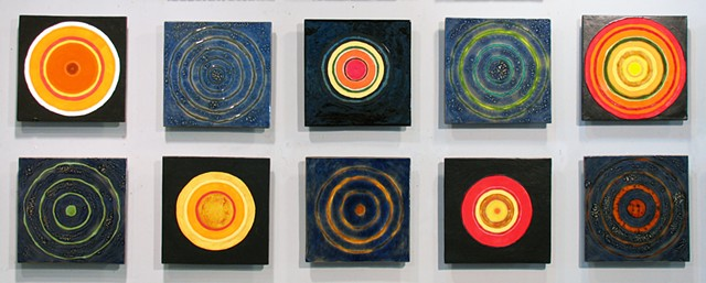 "Signs From Above III 10-12""x12""Tiles"