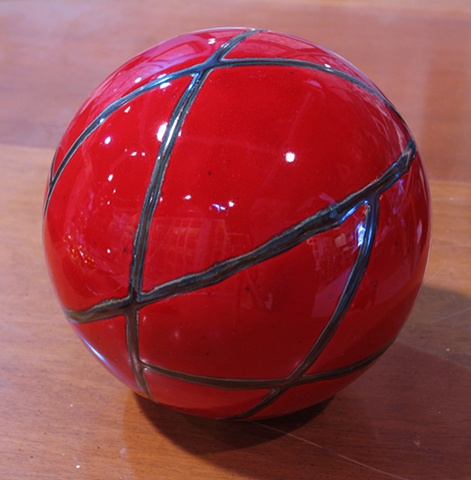 SOLD - Red Sphere