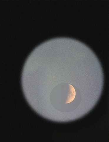 the moon from my rocket