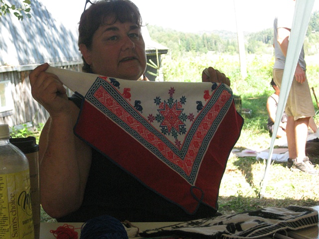 Dr. Hope Maclean Fire and Fibre: Shamanic ceremony and offerings of the Huichol workshop