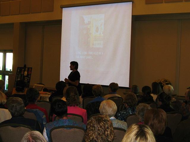 5 Counties Seminar 2009 tapestry workshop