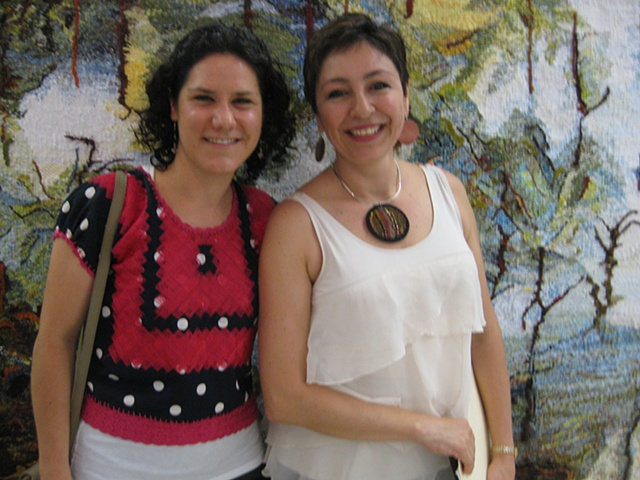 Together with Ana Paula Fuentes DirectorTextile Museum of Oaxaca