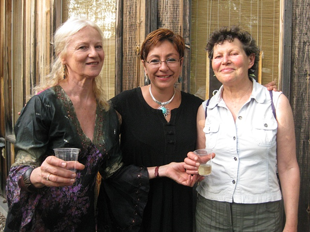 With Jolanta Sprawka Edith Meusnier and me