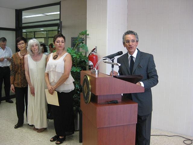 Opening remarks by Ricardo Salas Director School of Design
