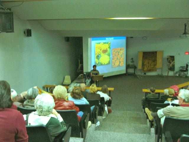 Lecture. Weaver Auditorium