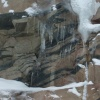 Rock Layers in winter