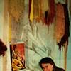 Iliana Pedroza at her loom