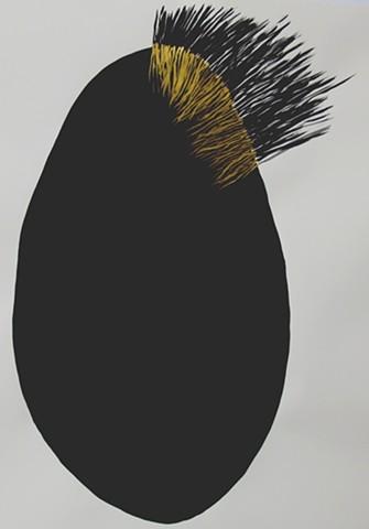 Black & Gold Egg