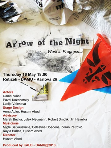 Arrow of the Night (poster), dir. Husam Abed