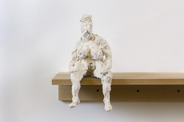 """Bigger Girl"", 2015, detail  porcelain  Fulbright Alumnae Exhibition"
