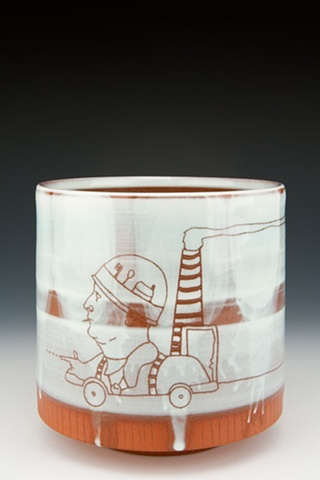 """""""Electric Army"""" (cup), view 1"""