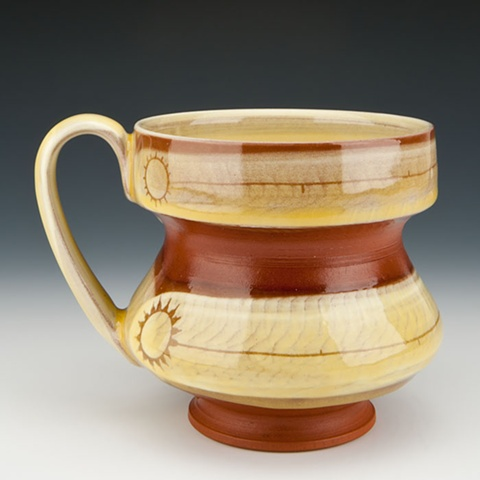 """""""Sun Lines"""" (handled cup)"""