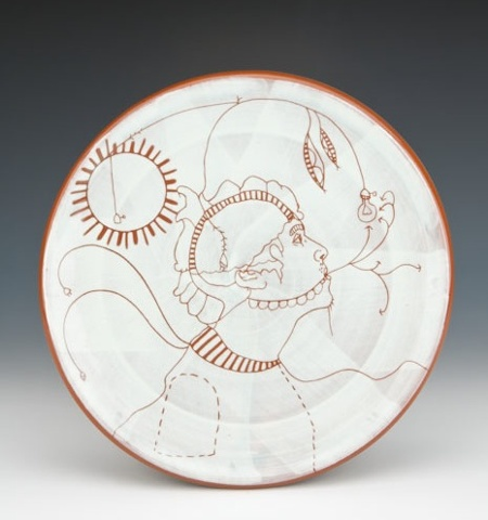 """Searching For Light"" (plate)"
