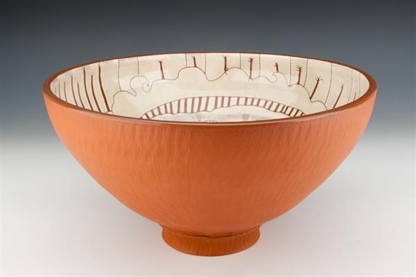 """Clock Maker"" (large bowl), view 1"