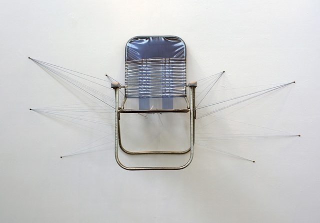 Lawn Chair Suspension (Installation View)