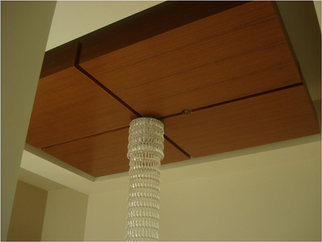 Ceiling Panels for Modern Chandelier